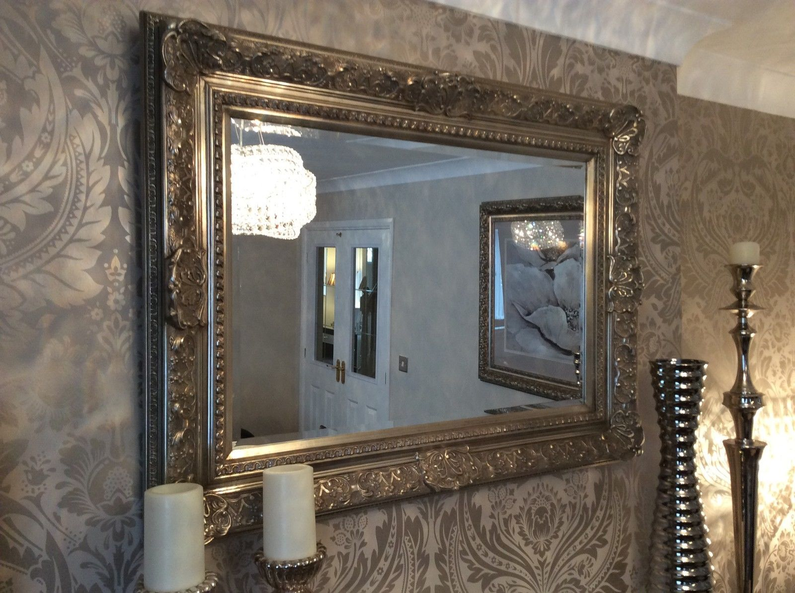 5 Inch Wide Frame Wall Mirror Full Range Of Sizes And